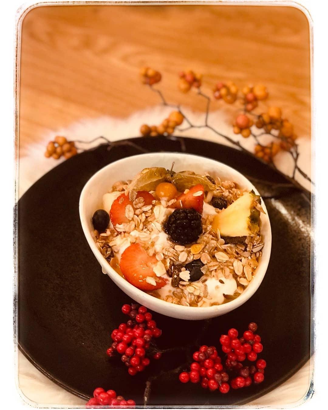 🍓🍒🍑Obstsalat mit Naturjoghurt 🍎🍏🍐