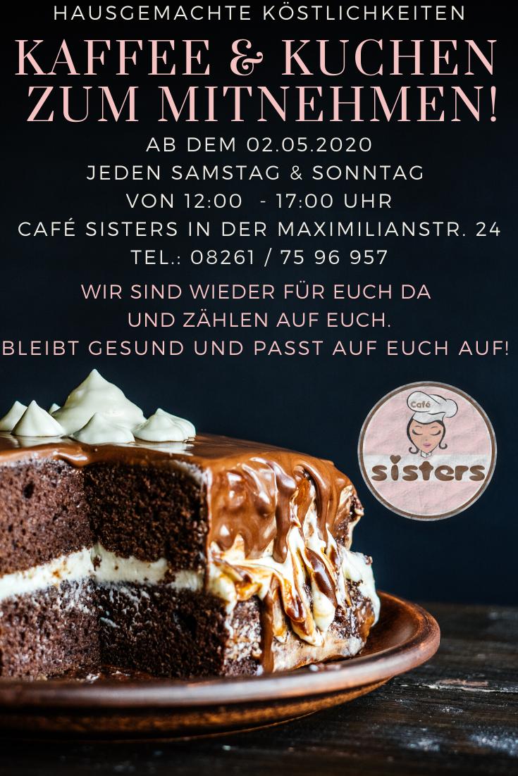 Habt ihr schon unsere leckeren Kuchen und Torten vermisst? ???? Das lange Warten hat ein Ende…